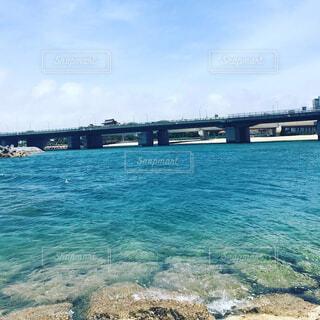 波の上の橋の写真・画像素材[1555499]
