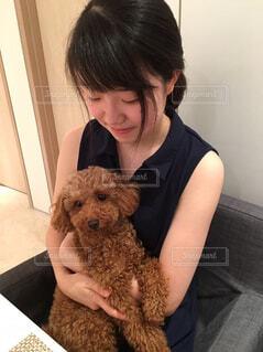 愛犬と一緒に♪の写真・画像素材[1556181]