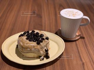 新大久保のカフェのタピオカケーキの写真・画像素材[1744569]