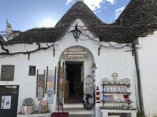 アルベロベッロの素敵なお店です。の写真・画像素材[1565472]