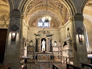 石造りの教会の様子の写真・画像素材[1574035]