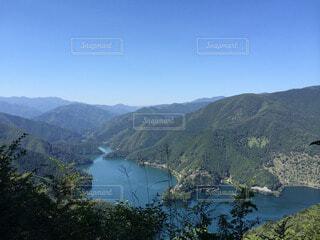 登山道からの眺めの写真・画像素材[47038]