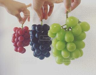 果物を持っている手の写真・画像素材[776623]