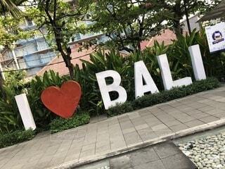 I LOVE BALIの写真・画像素材[1558916]