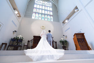 結婚式の写真・画像素材[1558976]