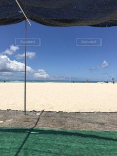 砂浜と青空の写真・画像素材[1559490]