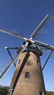 風車と空の写真・画像素材[1568976]