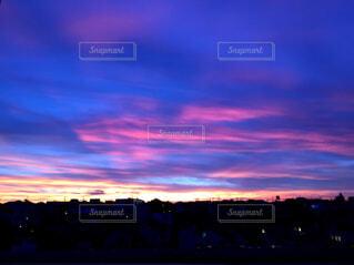 夕焼け空の写真・画像素材[1569771]