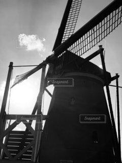 風車の写真・画像素材[1576389]