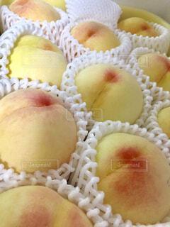 大好きな白桃♡の写真・画像素材[1656632]