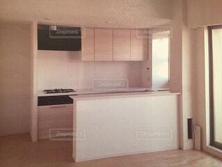 我が家のキッチンの写真・画像素材[4536603]