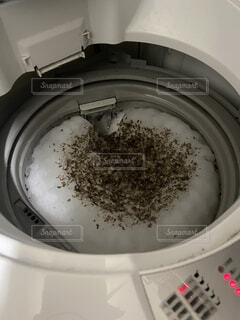洗濯槽の汚れの写真・画像素材[3037745]