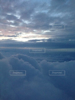 もふもふ雲の写真・画像素材[1560101]