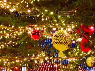 クリスマスイルミネーションの写真・画像素材[1575860]