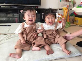 従姉妹の写真・画像素材[1566866]