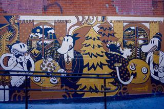 Brooklyn graffitiの写真・画像素材[1590392]