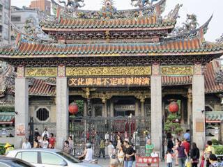 龍山寺の写真・画像素材[1580588]