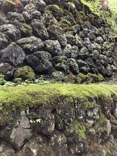 小諸城址の石垣の写真・画像素材[2501583]