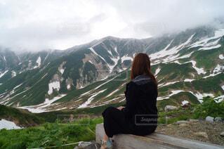 雪解けの立山(7月)の写真・画像素材[1563061]
