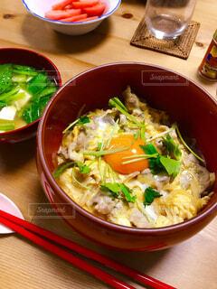 親子丼の写真・画像素材[1564090]