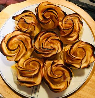 りんごのデザートの写真・画像素材[1567541]