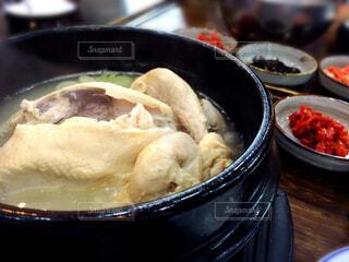参鶏湯の写真・画像素材[1565851]