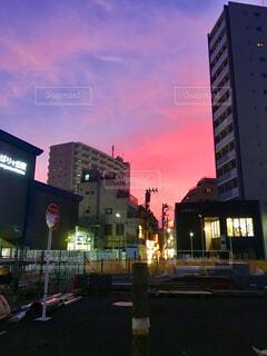 夕景の写真・画像素材[1573702]