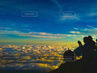 雲海の写真・画像素材[1581938]