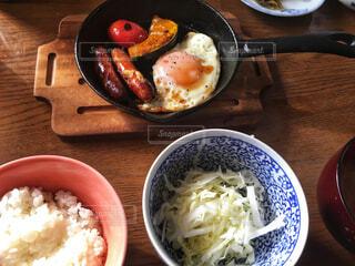 朝食の写真・画像素材[1579690]