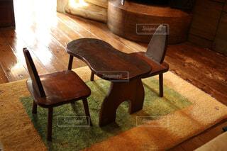 机と椅子の写真・画像素材[1569863]