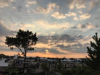フェスの夕暮れの写真・画像素材[1569441]