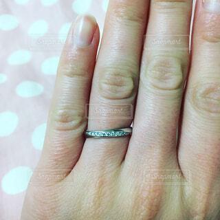 結婚指輪の写真・画像素材[1632830]