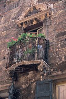 20年前のイタリアの出窓の写真・画像素材[2303094]