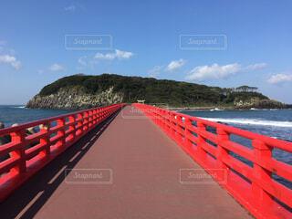 神の島への橋の写真・画像素材[2303364]