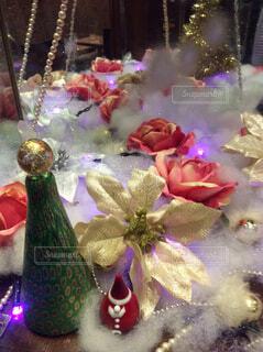 クリスマスディスプレイの写真・画像素材[1572391]