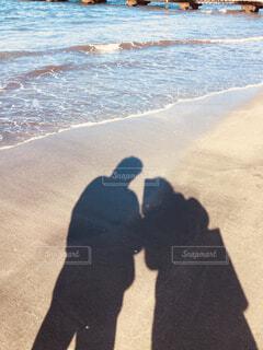 冬の海岸の写真・画像素材[1694017]