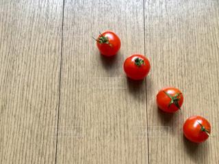 並ぶトマトの写真・画像素材[1795357]