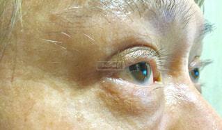 人の目をクローズアップするの写真・画像素材[2290124]