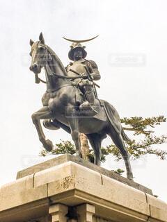 伊達政宗像の写真・画像素材[1590932]