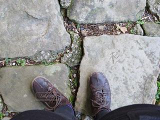 石畳の写真・画像素材[1573159]