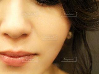 肌自撮りの写真・画像素材[1611679]