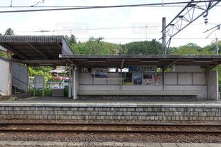 田舎の駅の写真・画像素材[1574923]