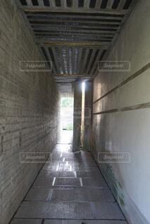 イタリアの建築家カルロスカルパ設計のブリオンヴェガの写真・画像素材[1576425]
