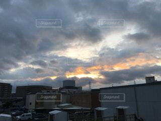 都会の雲の写真・画像素材[1578327]