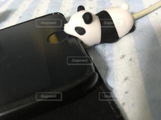 スマホ充電器カバーの写真・画像素材[1580570]