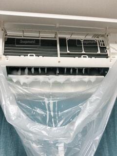 エアコンの掃除の写真・画像素材[1580766]
