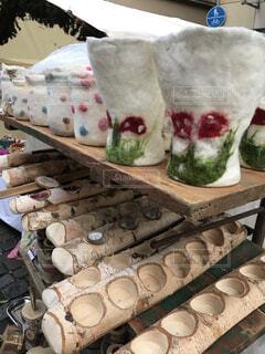 クリスマスマーケットの写真・画像素材[1663388]