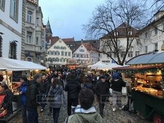 クリスマスマーケットの写真・画像素材[1663390]