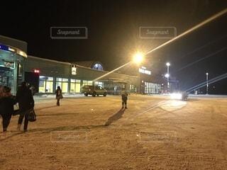 イヴァロ空港の写真・画像素材[1704689]