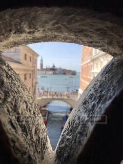 ベネチア・ドゥカーレ宮殿・ため息橋の写真・画像素材[2276231]